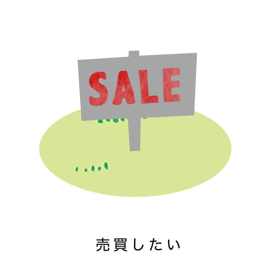 売買したい